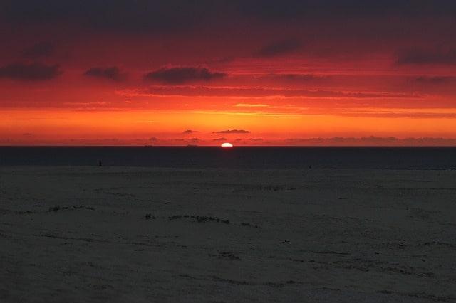 Sunset Ameland